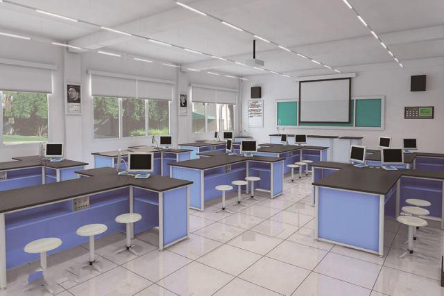 中学生理化生探究室